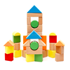 Colorful Wooden Building Block Set Funny