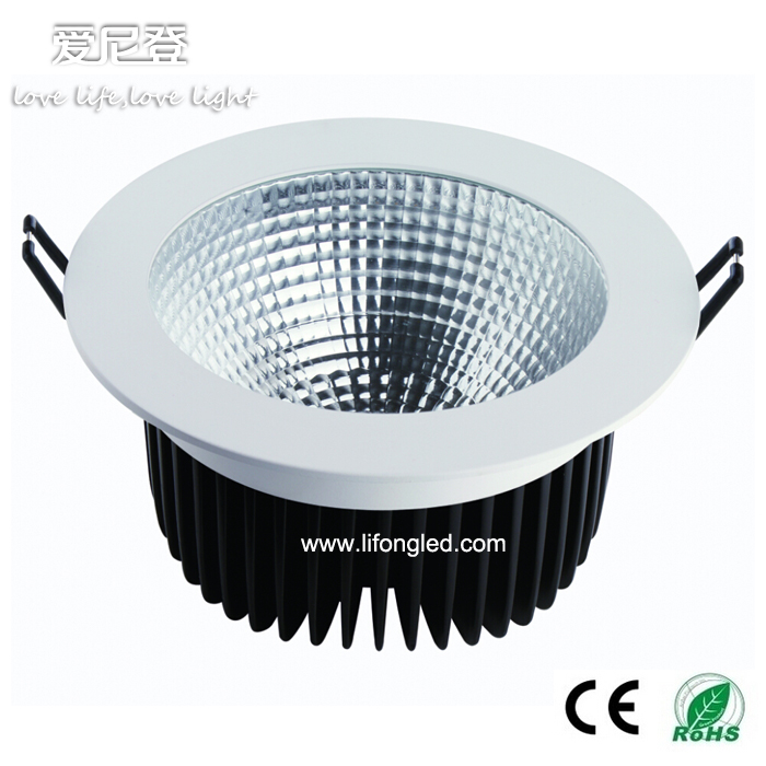 LED COB 50W 8 inch led retrofit recessed downlight
