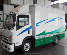 high speed pure electric van ,electric box truck with tail lifting