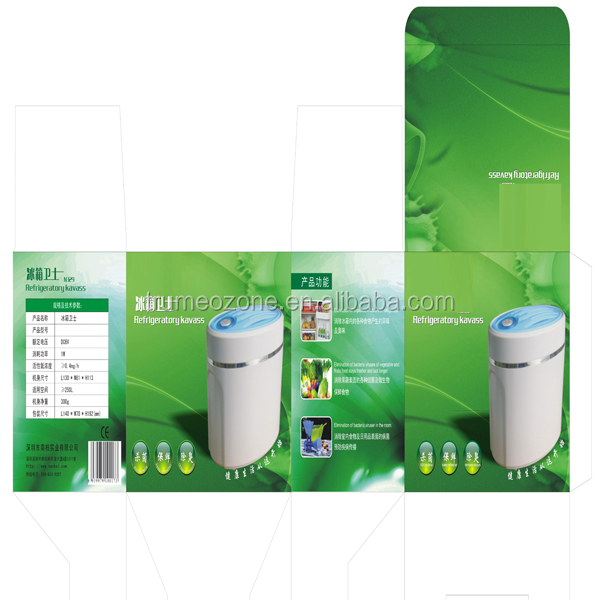 kitchen Circul ozone purifier with 20mg/h and LED indication light