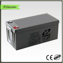Top selling 5 year warranty solar batterie 200ah for UPS solar systems