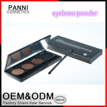high quality makeup 4 colors metal eyebrow powder