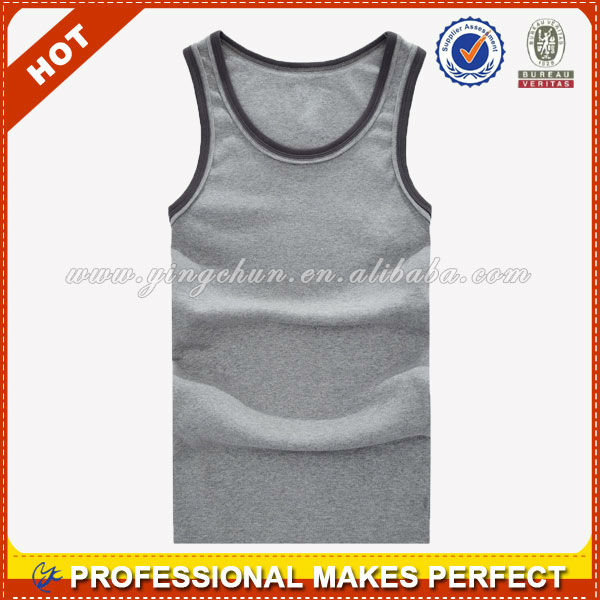 Best selling high quality men's sleeveless shirts