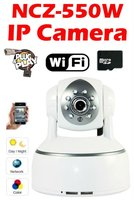 SIF1 NCZ-550W Plug & Play IP camera H.264 R-CUT Two-way audio Night Digital Zoom SD Card Storage support WIFI Mobile