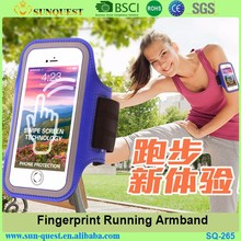 Outdoor Unisex Hydration Ultra Thin Spandex Armband for Mobile