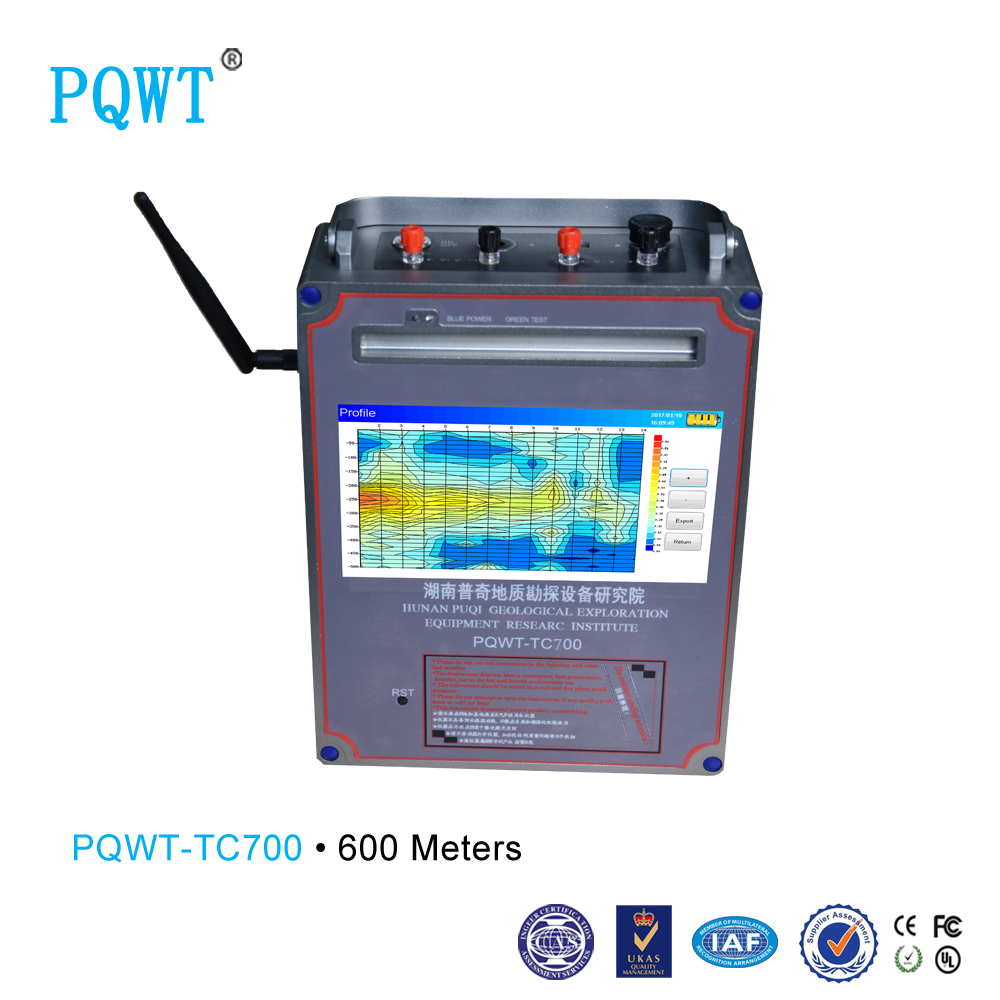 PQWT-TC700 Selling well all over the world PQWT underground water finder 600M