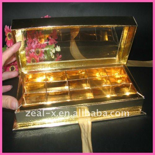 2011 new clear lip book shaped paper box for food