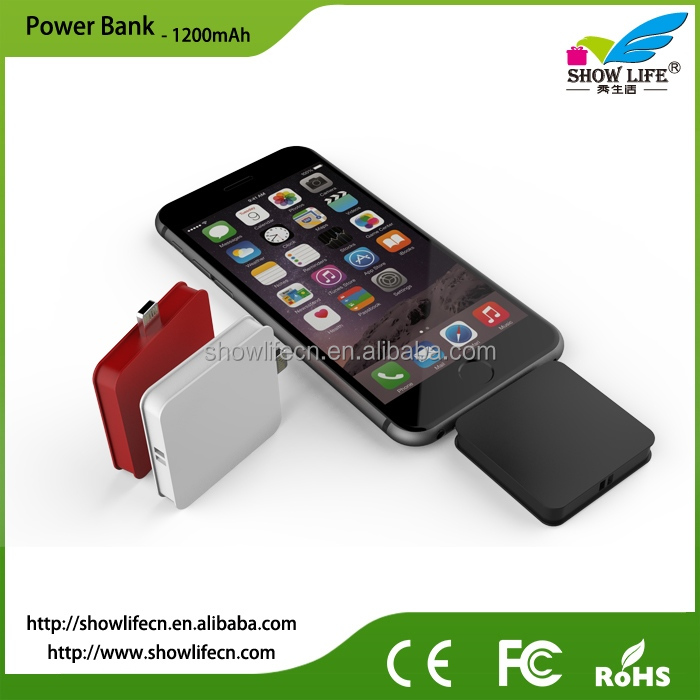 new emergency disposable one time cell phone charger with logo