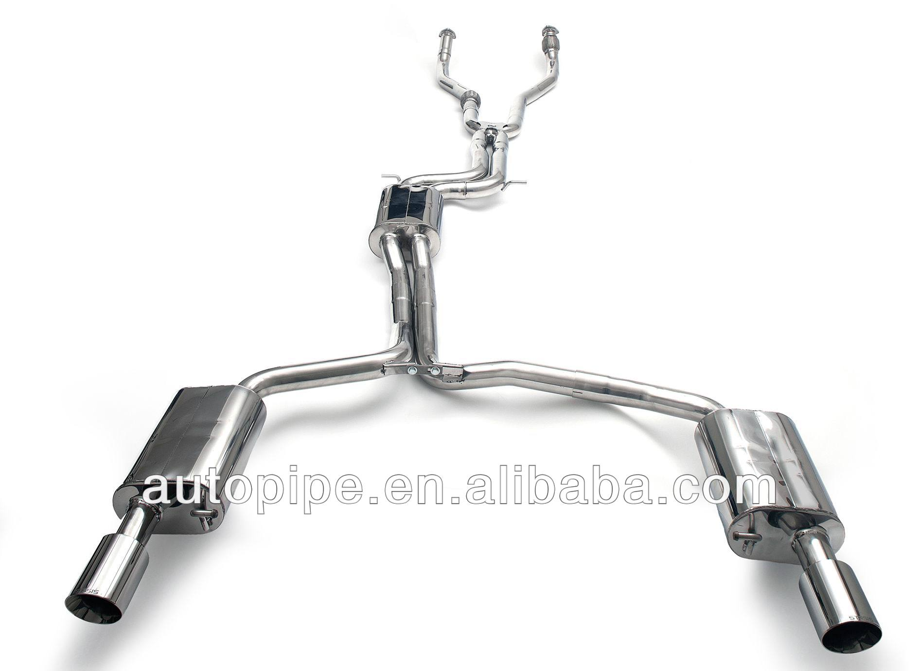 Exhaust system for audi a7 3.0T