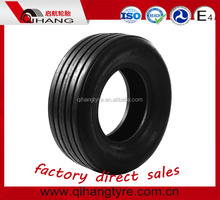 Agricultural implement and trailer tires for farm tractor