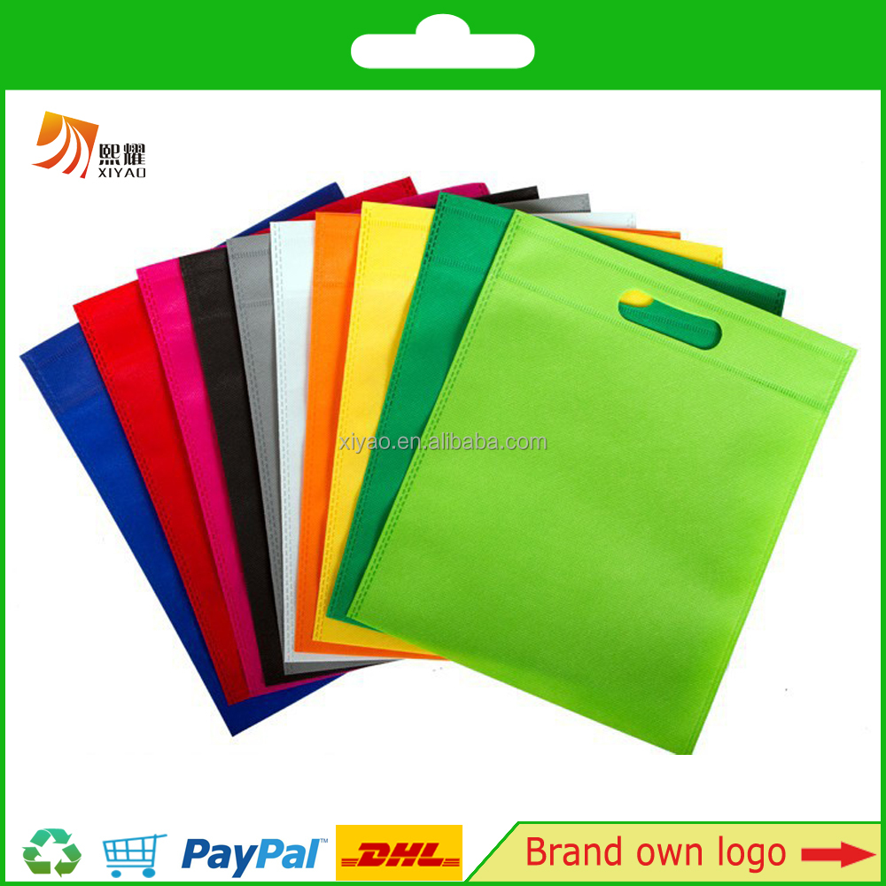 Non-woven Reusable Shopping Grocery Tote Bag Kids Carrying Bag for Party