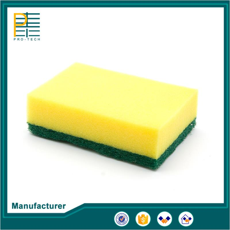 Professional wholesale household items kitchen cleaning wipe cellulose sponge with low price