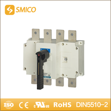 SMICO Latest Technology 1000 Amp Electric Type Of Isolator Switch 4 Pole