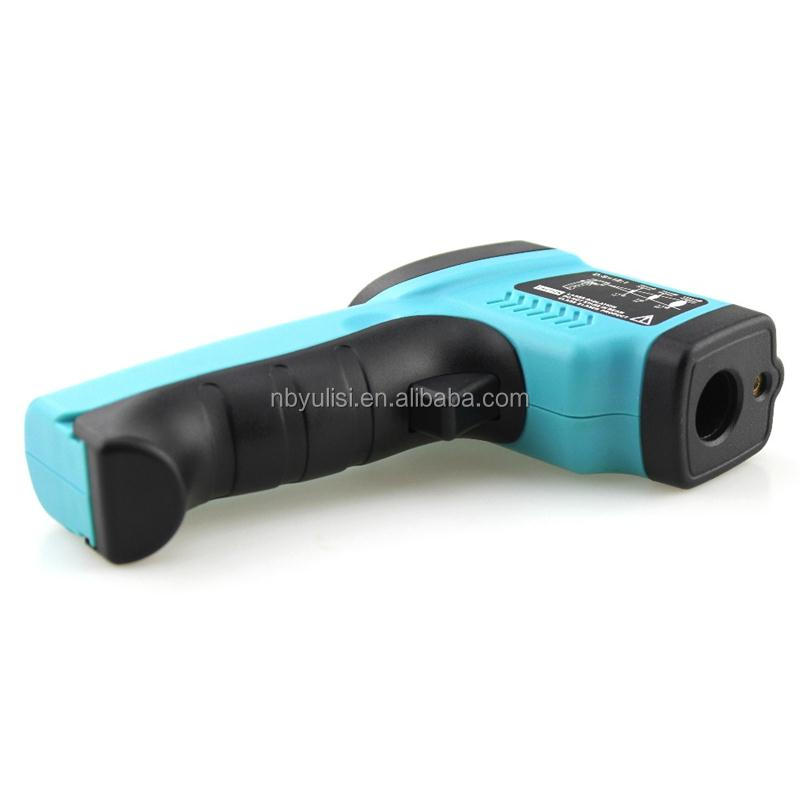 Hot selling non contact digital gun body high temperature alarm monitor veterinary infrared thermometer with low price