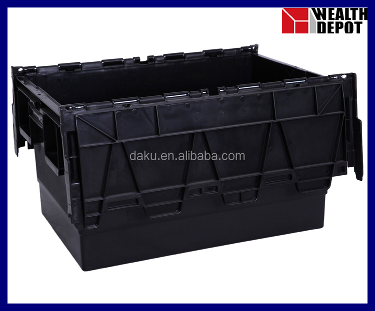 Plastic Returnable Packaging Box with Lids