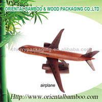 Wooden Airplane Craft Manufacture Festvial Gift
