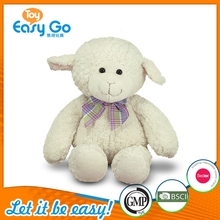 Wholesale Plush Baby Sheep Stuffed Plush White Sheep Toy for Children and Girl Gifts