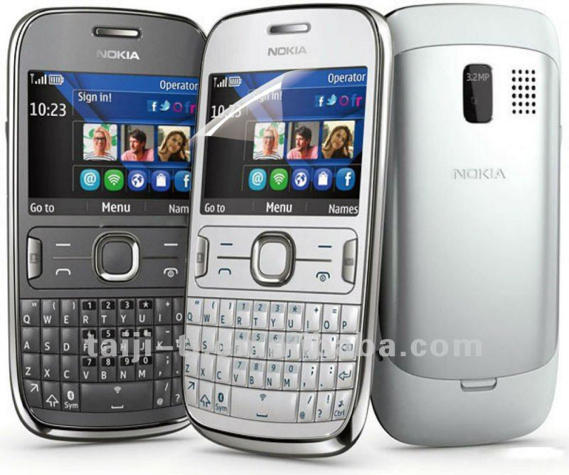 2012, NEW Type Screen Protector For nokia-asha-302-ofic, Anti Glare/Anti-Fingerprint Reusable