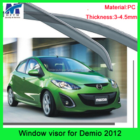 3-4.5mm PC Material 12months warranty car exterior Accessories for Demio 2012