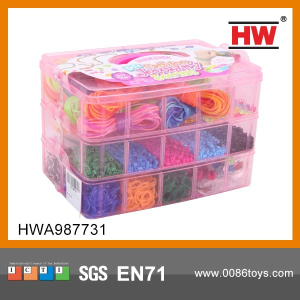 High Quality Kid's Rubber Band For Loom Bracelet