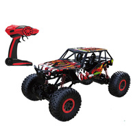 2017 new arrival Big wheel SUV 2.4GHz RC climbing truck 1:10 ROCK CRAWLER
