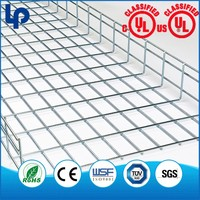 Flexible Installation Stainless Steel Wire Mesh Cable Tray