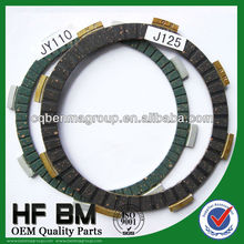 Motorcycle Clutch Friction Kit JY110 Green, J125 Black Clutch Disk Motorcycle Spare parts Wholesale