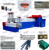 Good quality low energy consumption high performance price ratio waste plastic recycling machine
