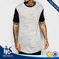 2016 Shandao Manufacturers Summer Casual 200g 100%Cotton Cut And Sew Short Sleeves Crew Neck Men Blank T Shirt