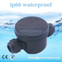 IP66 round plastic small terminal block connecting cable junction box