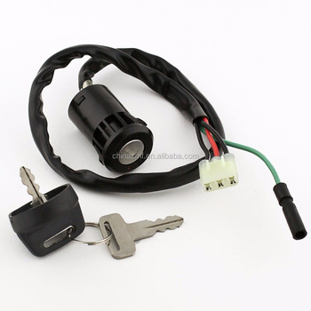 SMF-KL004 Fit for HONDA 250 TRX250TE TRX250TM 2002-2013 ATV Key Switch
