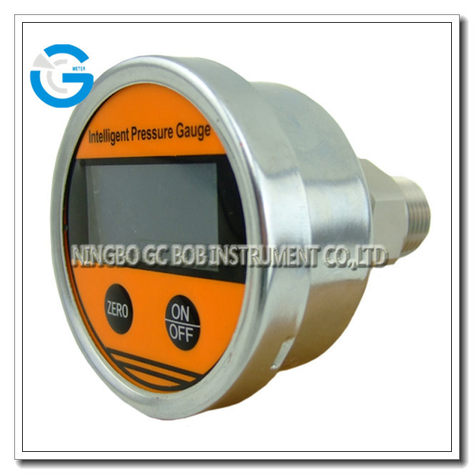 High Quality 2.5inch back connection digital manometer gauge