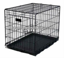 "cages pet kennel/48"" Large 3 Three Door Folding Wire Pet Cat Dog Crate Cage Kennel /Free Divider"