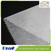 100%polyester non woven fusible interfacing
