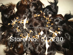 2014 Natural color Good luster Virgin indian hair wholesale