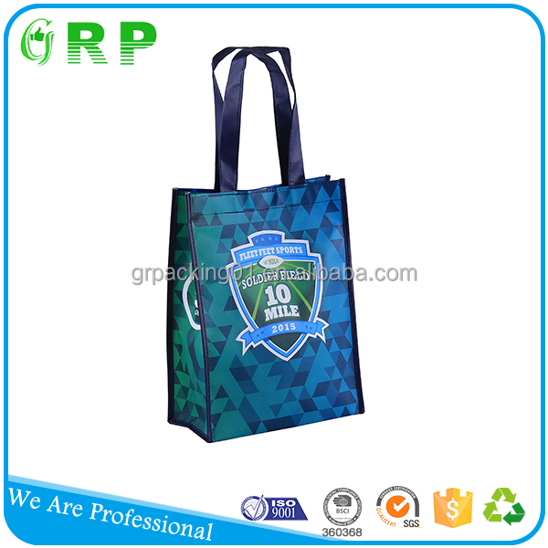 Full experience workers reusable pp foldable shopping bag
