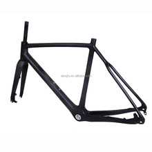 Dengfu New Carbon Cyclo Cross Frames Flat mount braket frame FM286