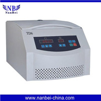 TD6 Table top low speed centrifuge Micro computer control system, digital display the RCF,time and speed