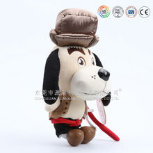 Custom any style Chrismas singing dog musical plush toy