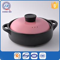 Insulated Colorful Easy-Clean Stoneware Ceramic Cooking Pot