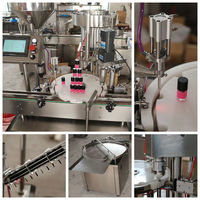 sales promotion high speed nail polish/gel polish filling capping machine
