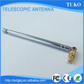 Aluminium 210mm closed length vhf omni directional 3 sections telescopic antenna
