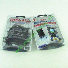 zip top mylar foil three side seal bags