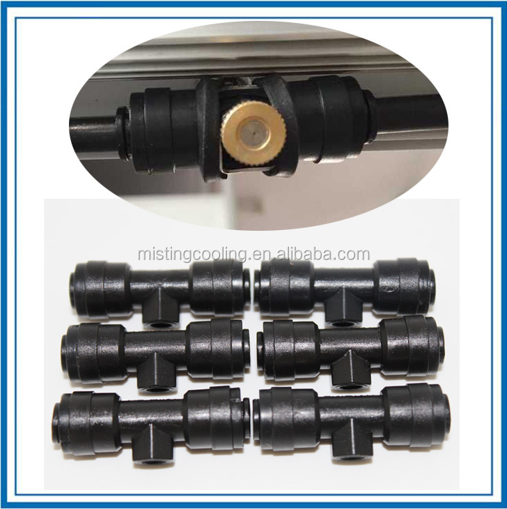 Nozzles for fogger low pressure water