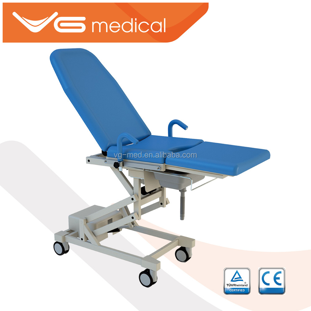2016 CE&ISO approved antique medical examination table/operating table gynecology instruments