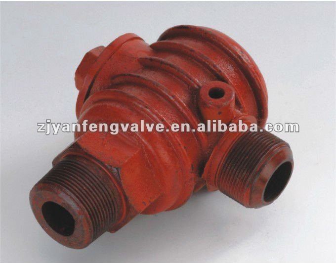 cast iron cooling fin check valve for air compressor