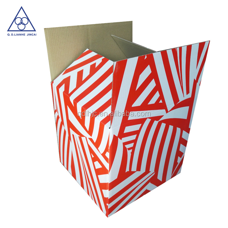 Customed sized portable box with printing