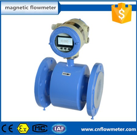 ZH cheap automatic water flow control electromagnetic flow meter