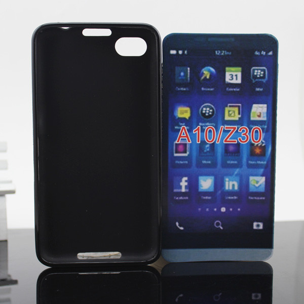 Factory Direct Soft Tpu Case Cover for Blackberry Z30 / A10 ( Other Colors and models can be customized)