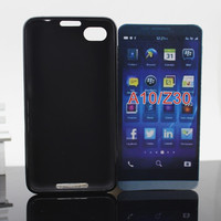 Factory Direct Soft Tpu Case Cover for Blackberry Z30 / A10 ( Other Colors and models can be customed)